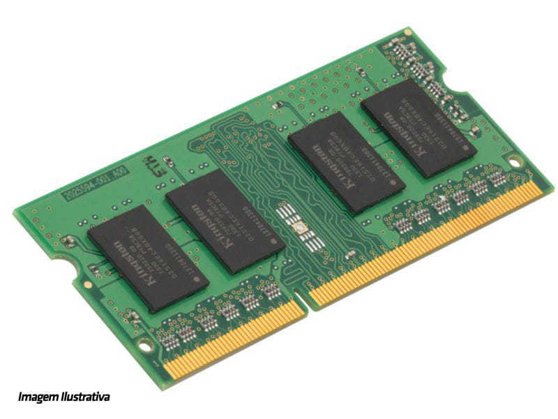 Memória Notebook 8GB DDR3 1600MHz Kingston Low Voltage 1.35v- KCP3L16SD8/8