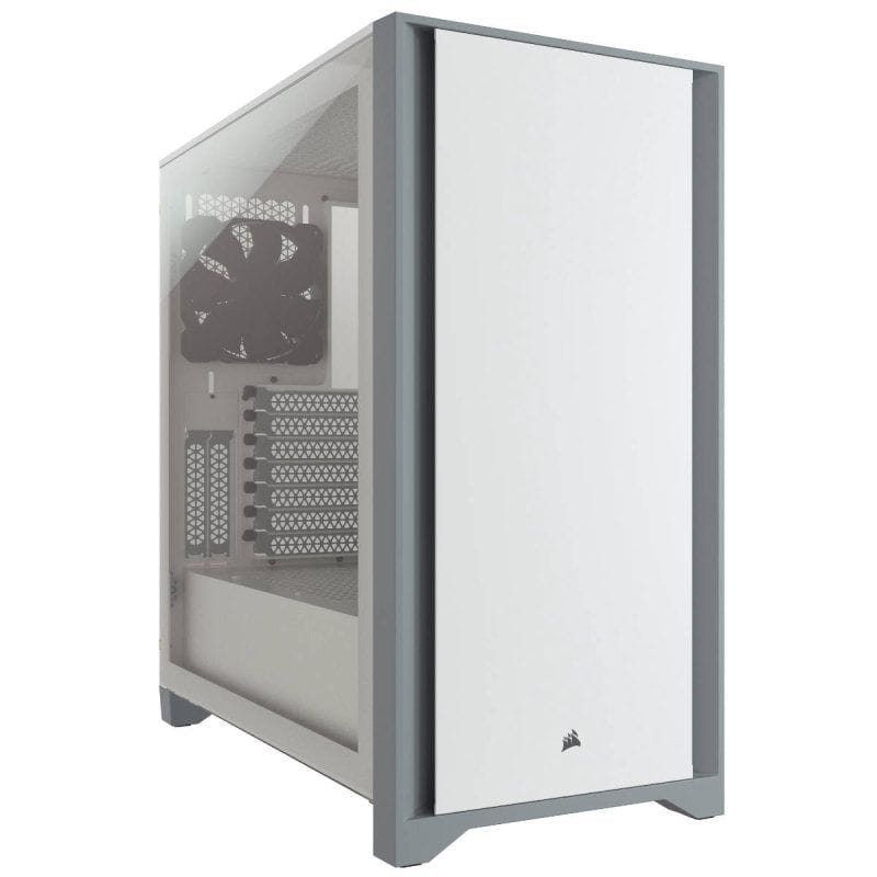 Gabinete Gamer Corsair 4000D Branco - CC-9011199-WW