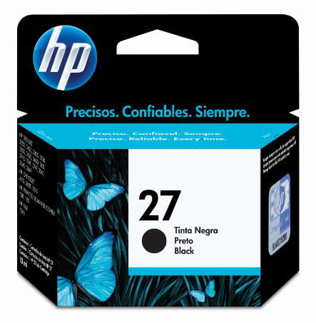 Cartucho HP 27 Preto 10ml - C8727AB