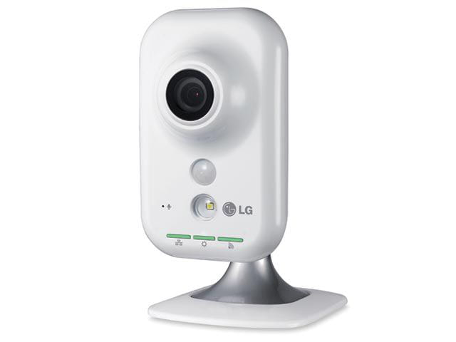 Camera LG Security IP Compacta Wireless RJ45 HD 1280x720p - LW130W-D