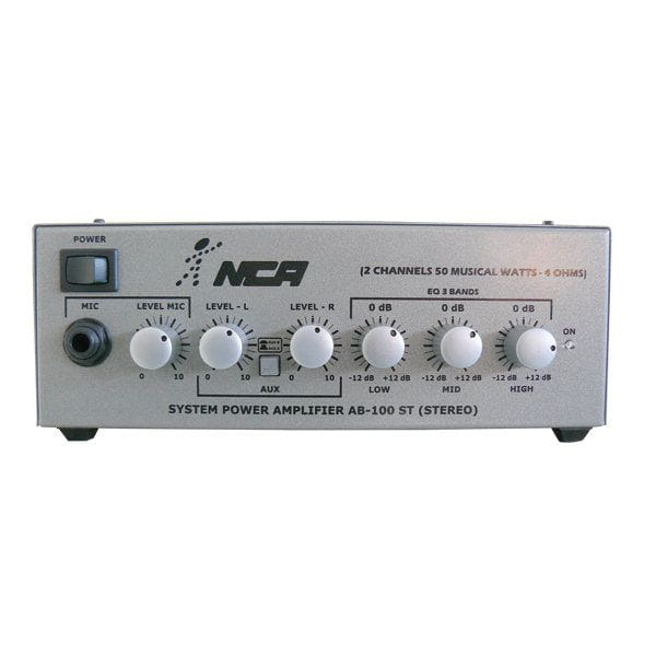 Amplificador Ab100st Nca 60w Rms Stereo L.l.