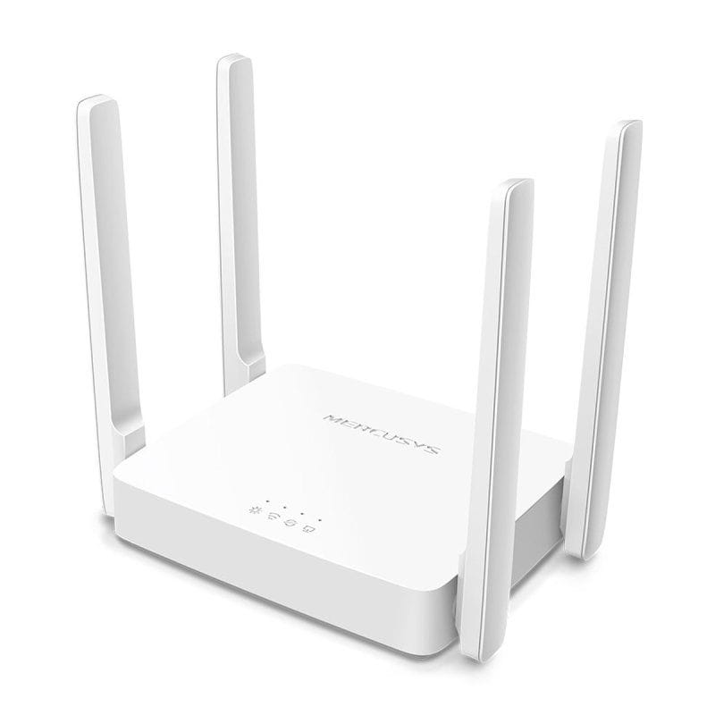 ROTEADOR WIRELESS MERCUSYS 10/100/1000/1200MBPS DUALBAND 2.4/5GHZ AC10 REF:AC1200