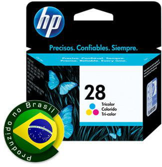 Cartucho HP 28 Tricolor 9ml - C8728AB