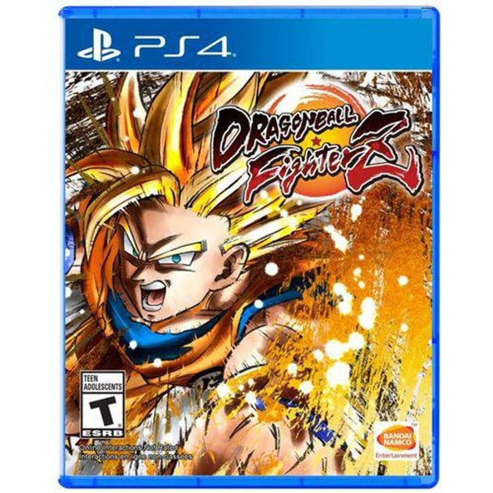 JOGO DRAGON BALL FIGHTER Z - PS4