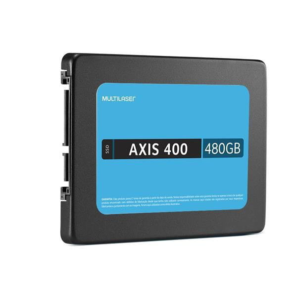 SSD 480 GB SATA MULTILASER AXIS 400  - SS401