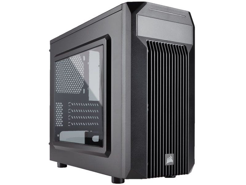 Gabinete gamer corsair cc-9011087-ww carbide series spec m2 matx preto