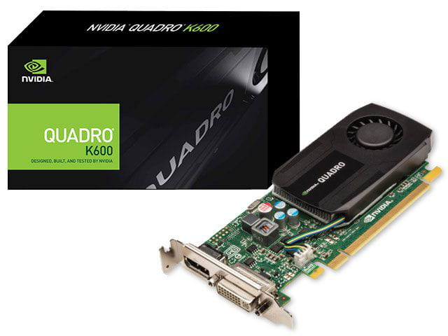 Placa de Video Nvidia K600 Quadro PNY 1GB DDR3 128bits 192 Cuda Cores - VCQK600-PB