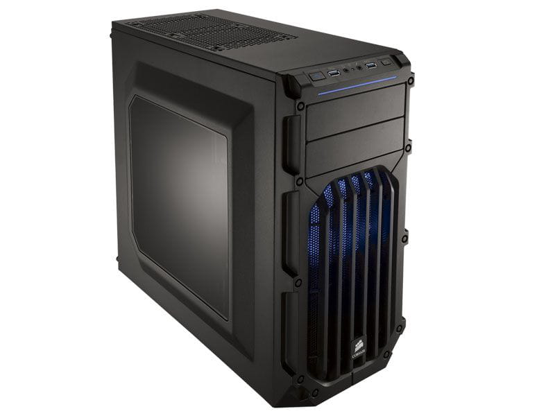 Gabinete gamer corsair cc-9011058-ww carbide series spec-03 shade blue led