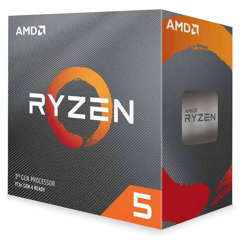 Processador AMD Ryzen 5 3600 Cache 32MB 3.6GHz(4.2GHz Max Turbo) - AM4 100-100000031BOX