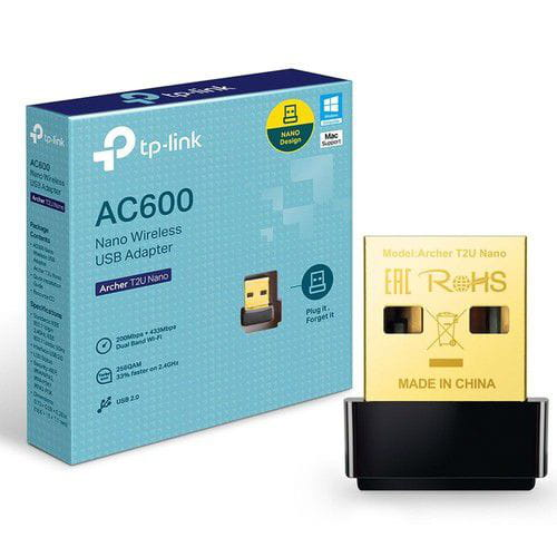 Adaptador Wireless USB TP-Link Archer Nano T2u AC600 Dual Band