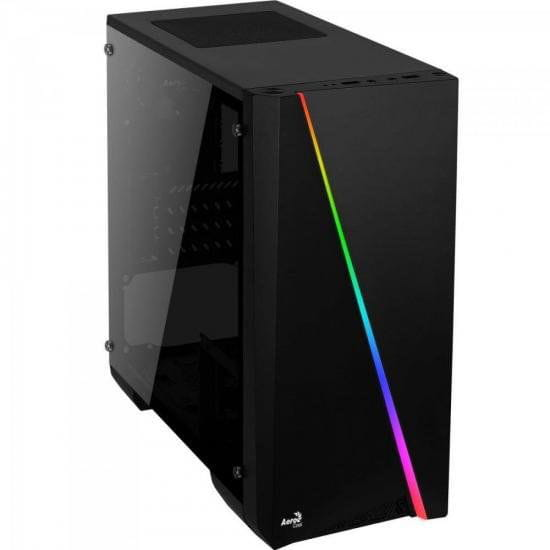 Gabinete Mini-Tower Aerocool RGB Mini Cylon Preto - 67546