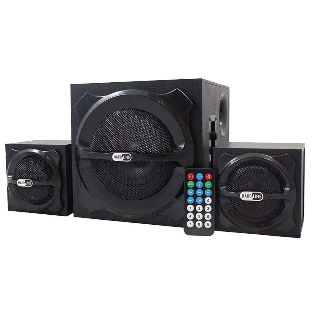 Caixa De Som Hardline 2.1 As-w802 20w Fm / Usb / Sd