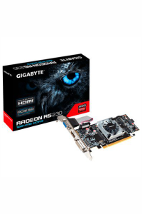 Placa de Video VGA AMD GIGABYTE RADEON R5 230 1GB DDR3 64 Bits PCI-Express 2.0, Rev 2.0 - GV-R523D3-1GL