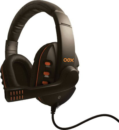 Headset Gamer Action Hs200 Preto Oex