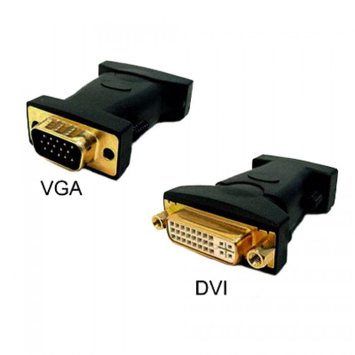 ADAPTADOR DVI FEMEA X VGA MACHO SMART