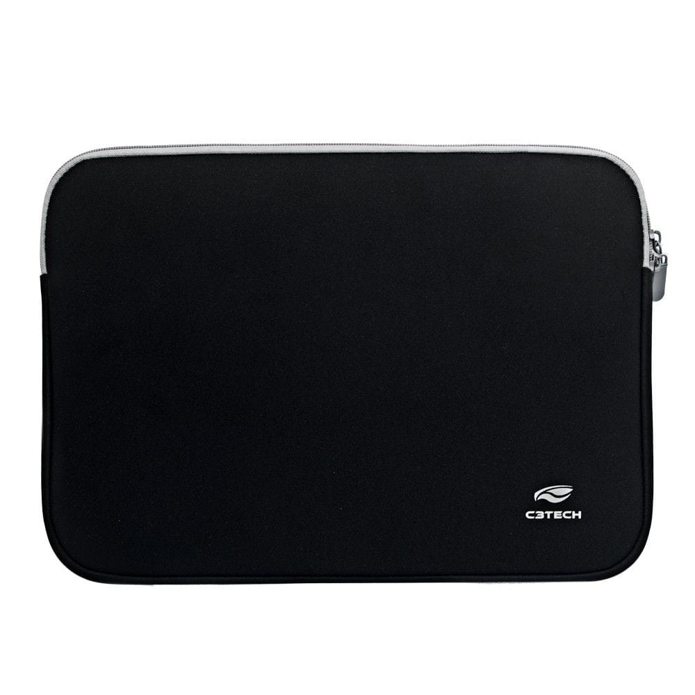 CAPA SLEEVE PARA NOTEBOOK  ATÉ 14.1 SEATTLE SL-14 PRETO C3TECH