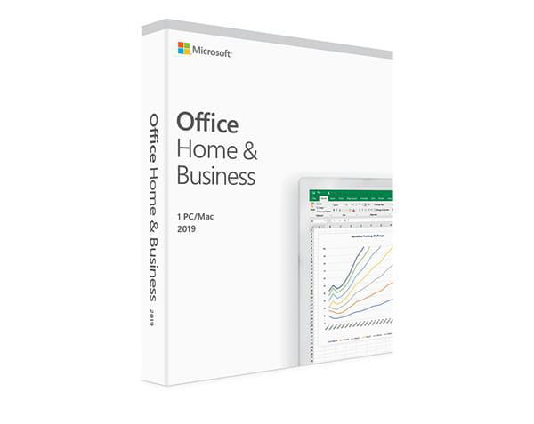 Pacote office home & business 2019 32/64 bits brazilian fpp - t5d-03241