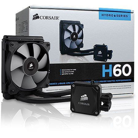 Water Cooler Corsair Hydro Series H60 120mm High Performance - CW-9060007-WW