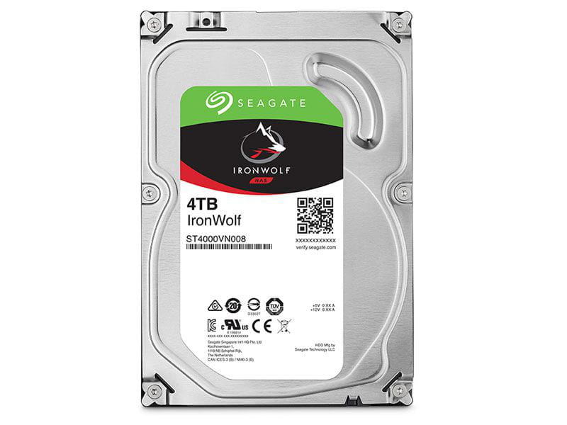 HD 4 TB Seagate Ironwolf ST4000VN008 5900rpm 64mb cache  sata 6gb/s