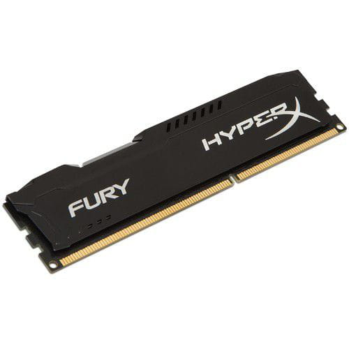 Memória DDR3 4GB 1600MHz Kingston Hyper X Fury Black Cl10 - HX316C10FB/4