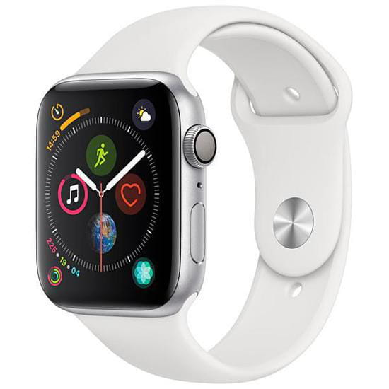 Apple Watch Series 4 44 mm MU6A2LL/A A1978 – Silver/White