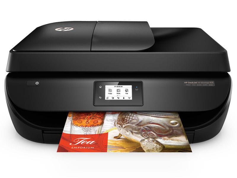 Multifuncional jato de tinta color hp f1h98a#ac4 deskjet ink advantage 4676 imp/copia/digit/fax/wifi 20ppm