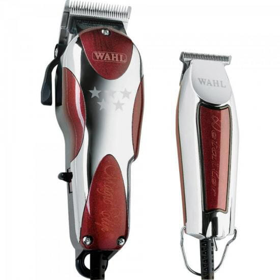 Kit Máquina de Corte Magic Clip + Detailer 127V WAHL