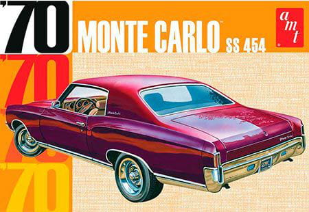 1970 CHEVY MONTE CARLO 1:25  AMT 928M - KIT PARA MONTAR