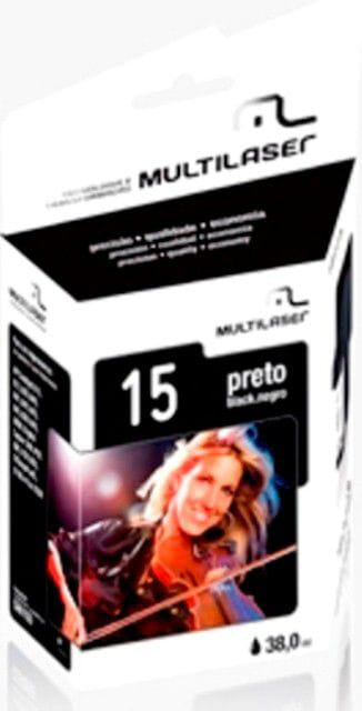 Cartucho Comp. Hp 6615 Preto Multilaser - Co015