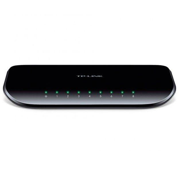Switch 8 Portas TP-Link 10/100/1000 Gigabit - TL-SG1008D