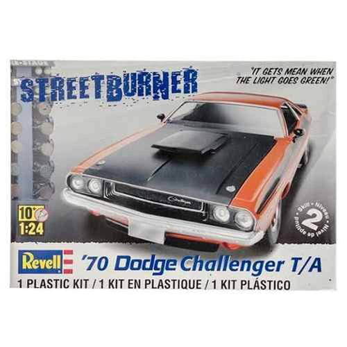 70 DODGE CHALLENGER T/A 1:24 REV852596 - KIT PARA MONTAR