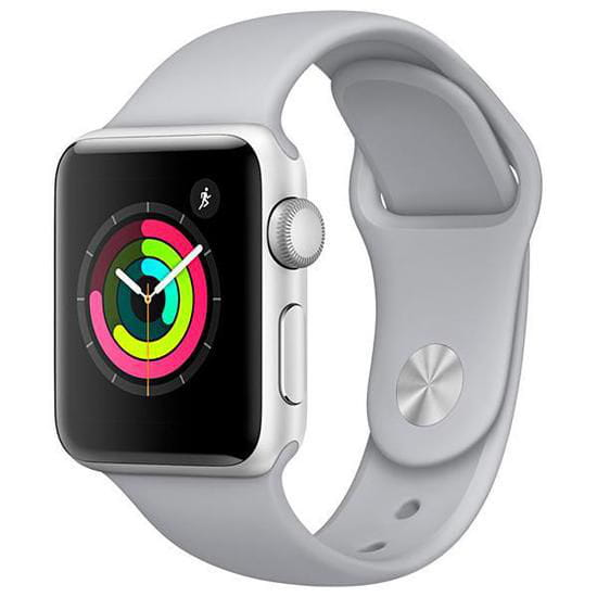 c304be487bc Apple Watch Série 3 38mm MQKU2LL A A1858 - Silver Fog - GPS