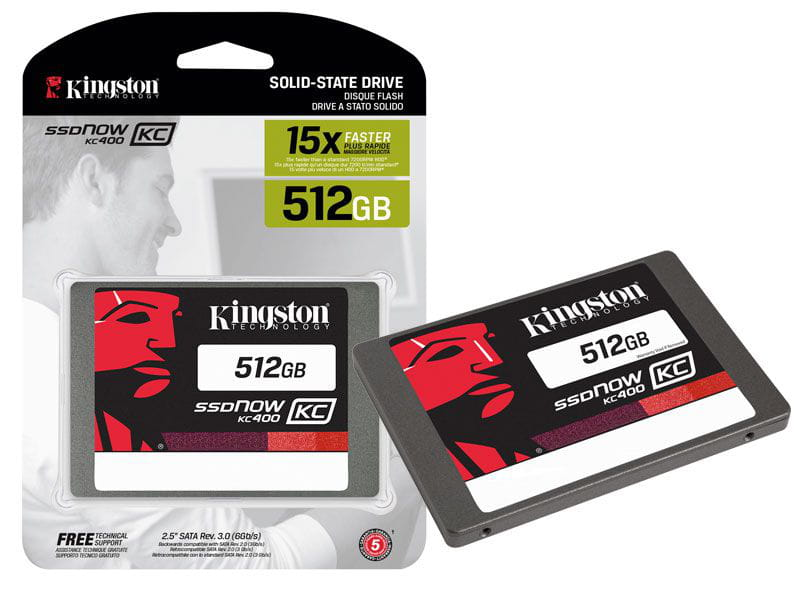 Ssd desktop notebook corporativo kingston skc400s37/512g kc400 512gb 2.5