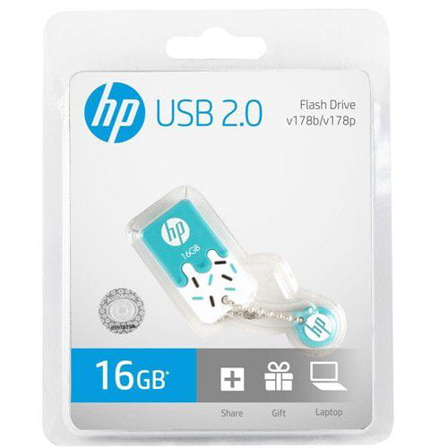 PEN DRIVE 16GB HP V178B AZUL