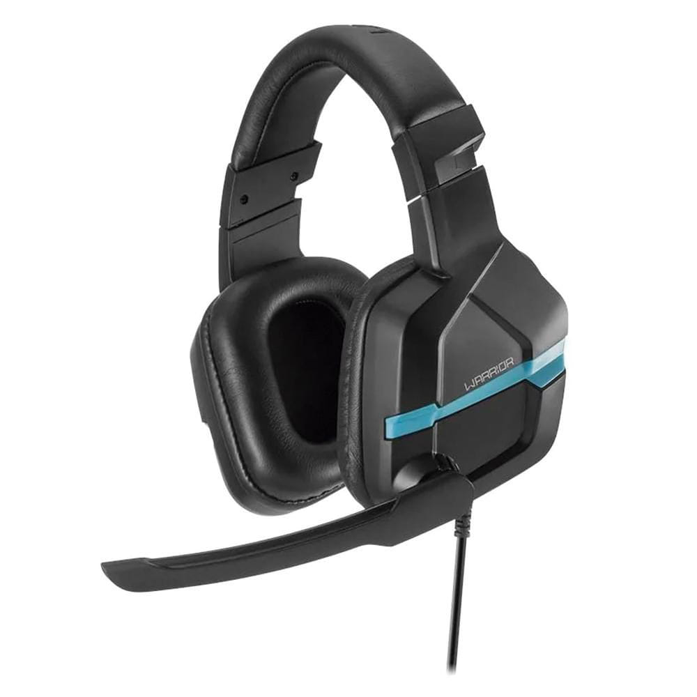 Headset Gamer Multilaser Warrior Askari P3 Azul - PH292