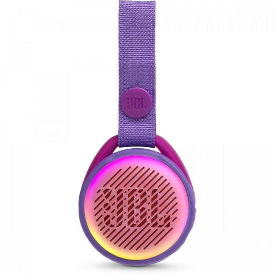 Caixa Multimídia Portátil Bluetooth JR Pop Roxa JBL