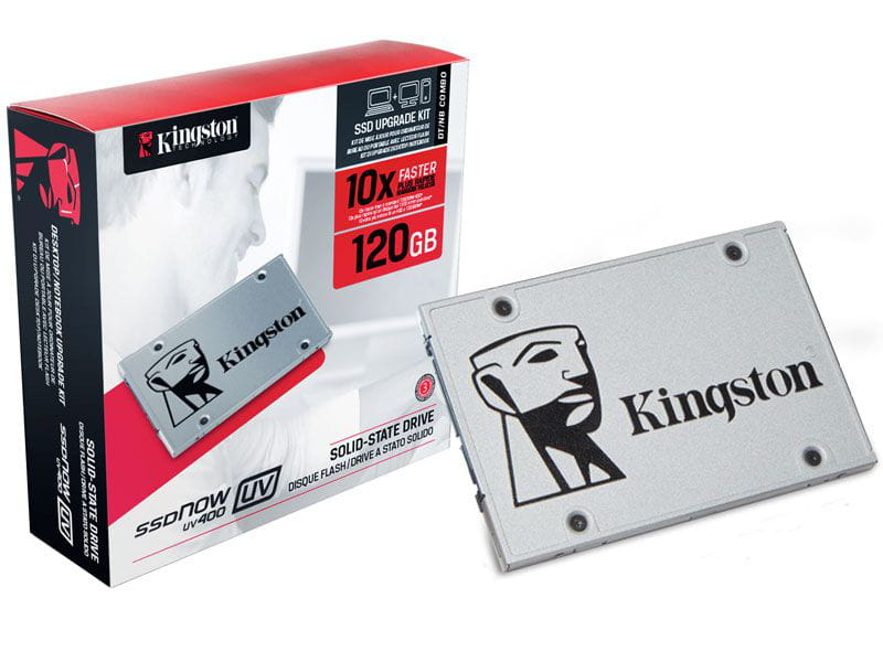SSD 120GB Kingston Kit Desktop Notebook UV400 2.5