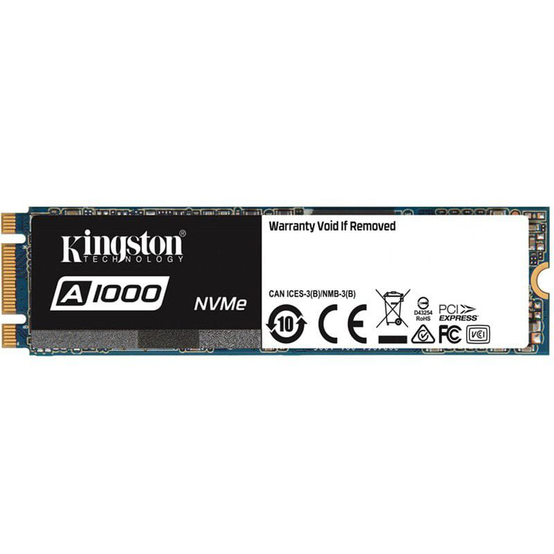 SSD 240GB Kingston A1000 M.2 NVME 2280 Ger 3.0 x2 - SA1000M8/240GB