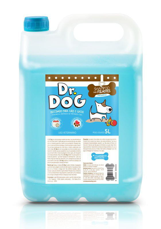 DR DOG SHAMPOO PET NEUTRO E FILHOTES
