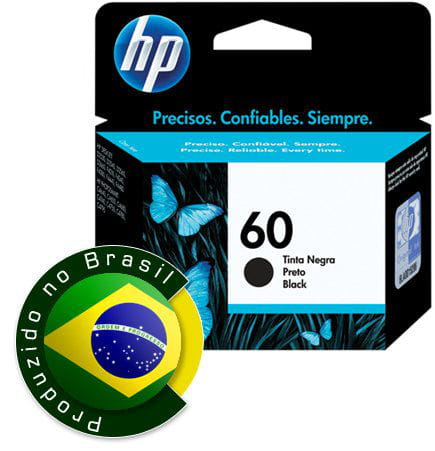Cartucho HP 60 Preto 4ml - CC640WB