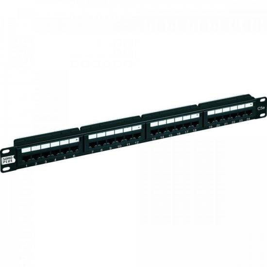 Patch Panel CAT.5e T568A/B 24P FURUKAWA SOHOPLUS
