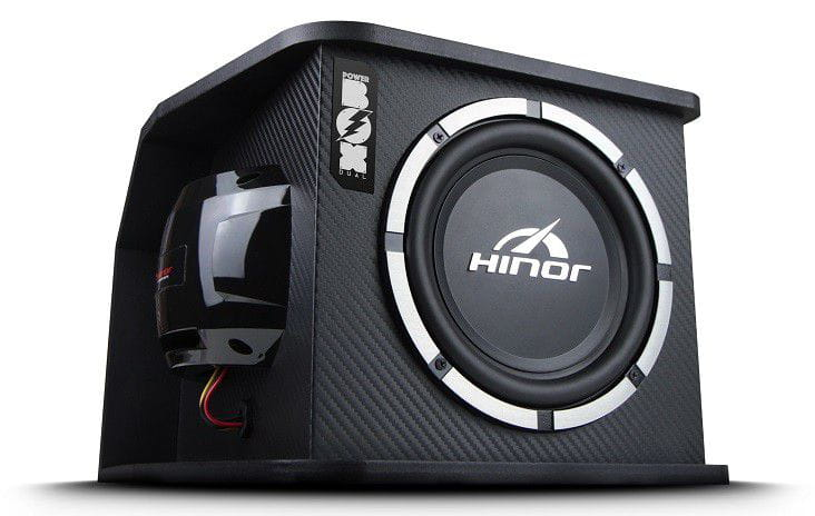 Caixa Subwoofer Active Box Power Box Dual 800W - Hinor