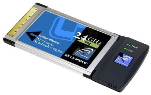 Adaptador Wireless PCMCIA WPC54G Linksys