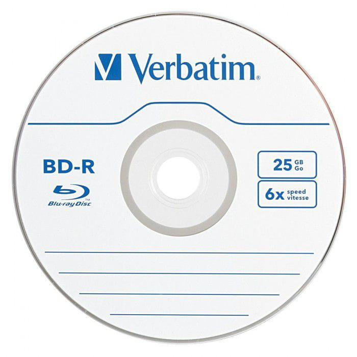 Verbatim 25 GB 6x Blu-ray Single Layer Recordable Disc BD-R