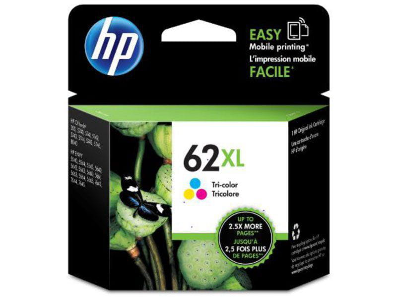 Cartucho De Tinta Officejet Hp Suprimentos C2p07al Hp 62xl Tricolor 11,5 Ml