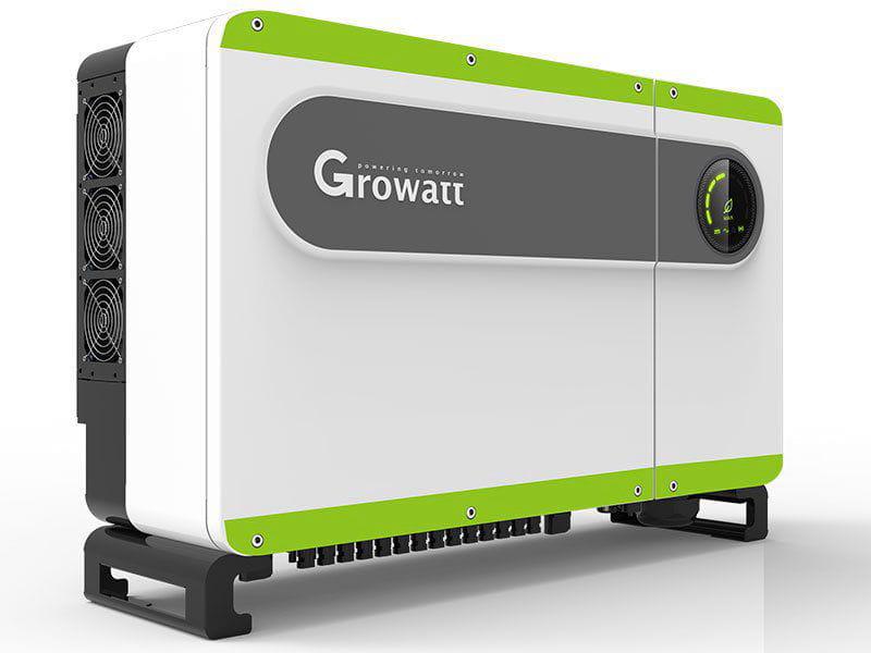 Inversor Solar Growatt On Grid Aldo Solar Max75ktl3-lv 75kw Trifasico 380v 6mppt 12 Entradas Monitoramento