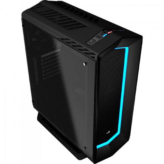 Gabinete Aerocool Project 7 Mid-Tower USB3.0 Preto - EN58355
