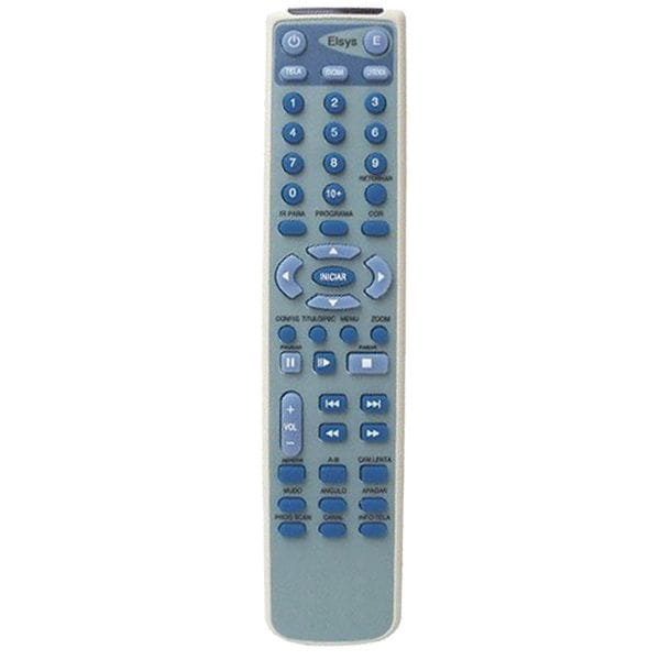 Controle Dvd Elsys Rcp-0777