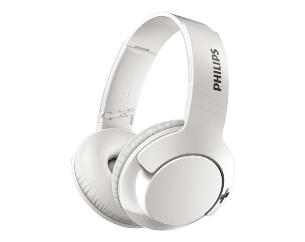Headphone philips bass+ - branco - shb3175wt/00