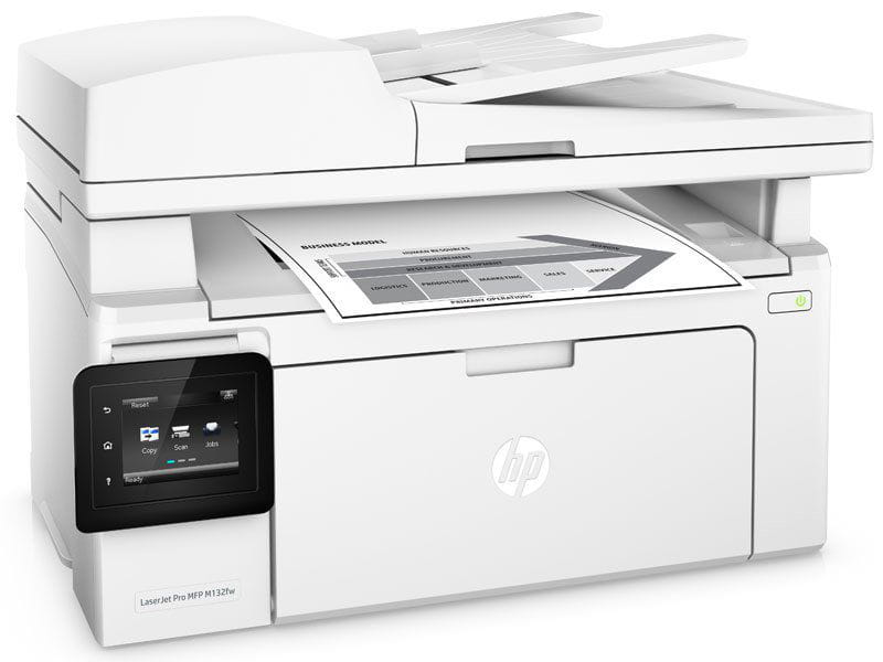 Multifuncional HP M132FW - Laserjet mono hp g3q65a#696 pro m132fw imp/copia/dig/rede/fax/wifi 23ppm